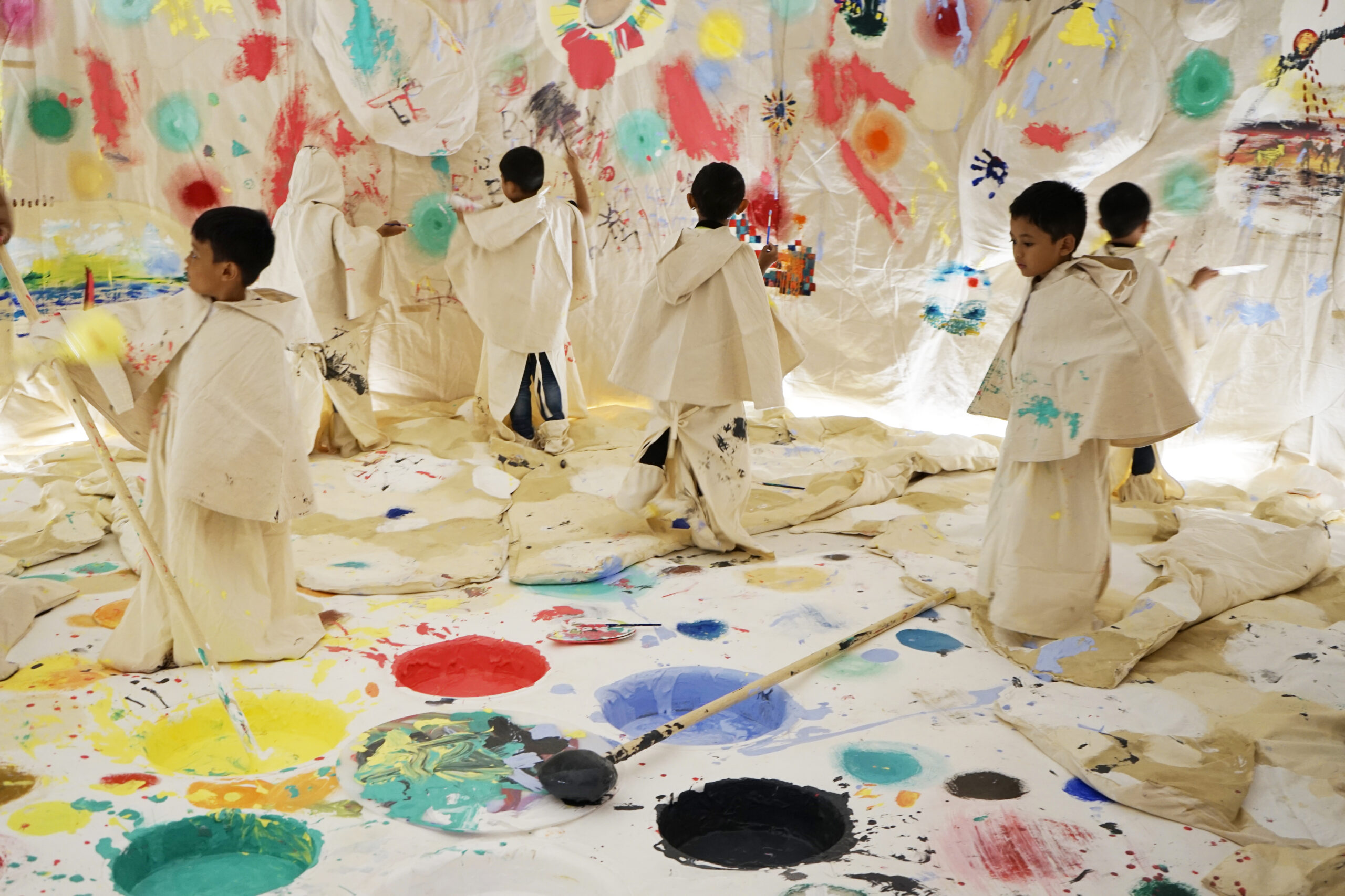 Museum MACAN Children's Art Space Commission - Color in Cave by Mit Jai Inn